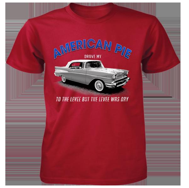 Red American Pie Tee