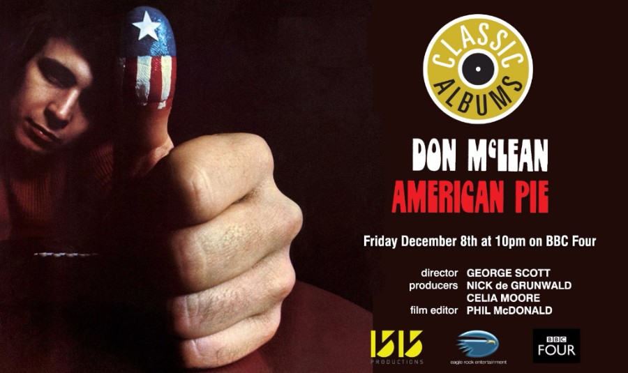 Don McLean's 'American Pie' Album Featured On BBC's Channel Four
