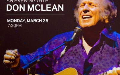 Don McLean Announces U.S. & European Tour Dates Along With Intimate GRAMMY Museum® Program on March 25