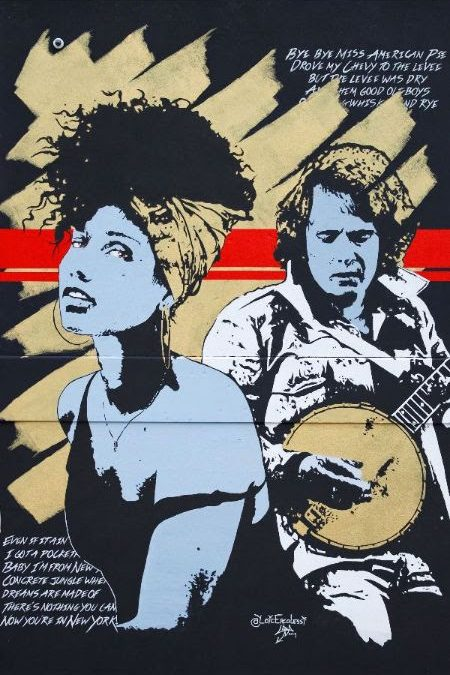 DON McLEAN AND ALICIA KEYS HONORED WITH NRNY ARTSY MURALS IN NEW ROCHELLE, NEW YORK