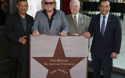 Don McLean Receives Star On Las Vegas Walk Of Stars